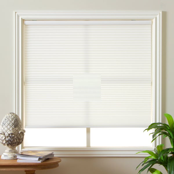 Arlo Blinds Honeycomb Cell Light-filtering Cream Cordless Cellular Shades