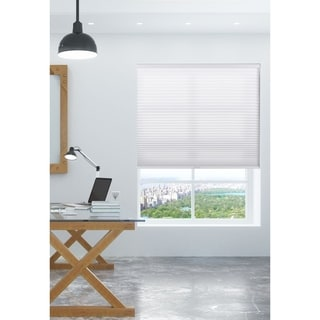 white window shades cheap arlo blinds pure white light filtering cordless lift cellular shades buy online at overstockcom our best window treatments deals