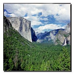 Preston 'Yosemite III' Canvas Art