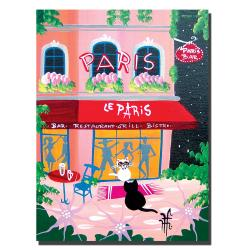 Herbet Hofer 'Le Paris' Canvas Art