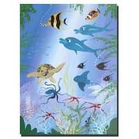 Herbet Hofer 'Sea Life' Canvas Art