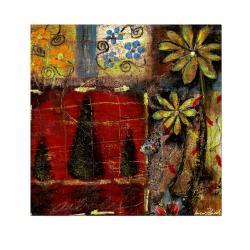 Miguel Paredes 'Landscape I' Canvas Art