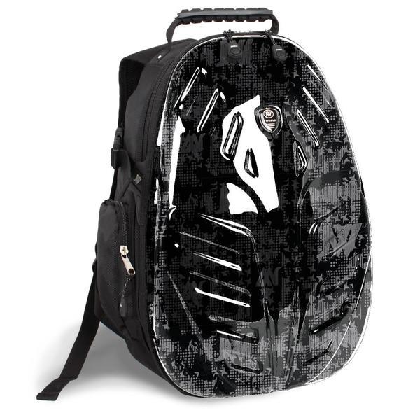 J World 'Eagle' Frost Black 18-inch PC Tablet Backpack