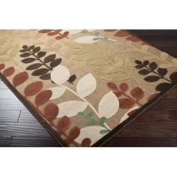 Woven Terrance Indoor/Outdoor Floral Rug (5 x 7'6) - Thumbnail 1