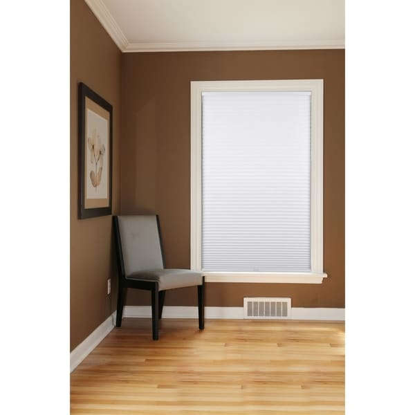 Arlo Blinds White Room Darkening Cordless Cellular Shades. Opens flyout.
