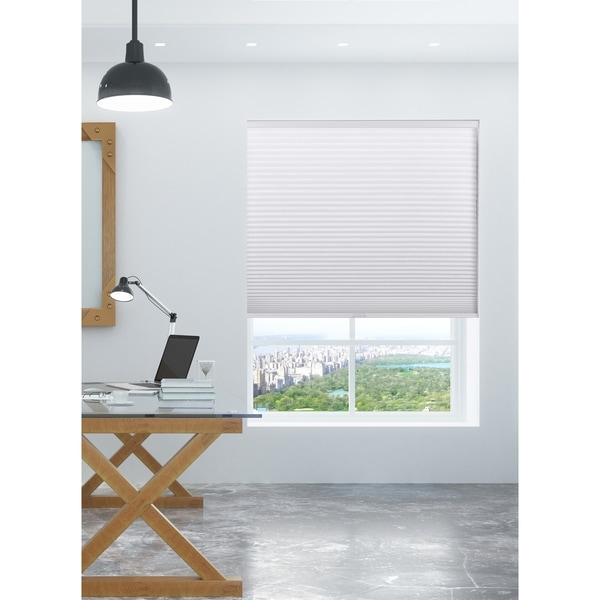 Shop Arlo Blinds White Room Darkening Cordless Lift Cellular Shades