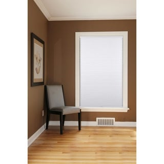 Honeycomb White Cell Blackout Cordless Cellular Shades (As Is Item)