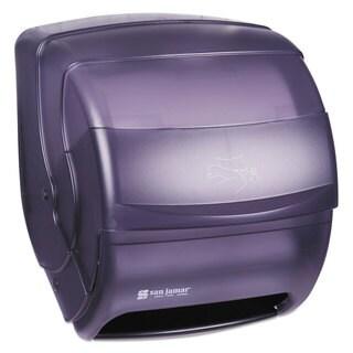 San Jamar Integra Lever Roll Towel Dispenser Black Pearl 11 1/2 x 11 1/4 x 13 1/2