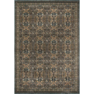 Preston Blue Agra Rug (2' x 3')