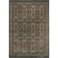 "Momeni Belmont Light Blue Agra Rug - 3'11"" x 5'7"""