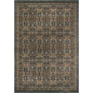 Momeni Belmont Light Blue Agra Rug (5'3 x 7'6)