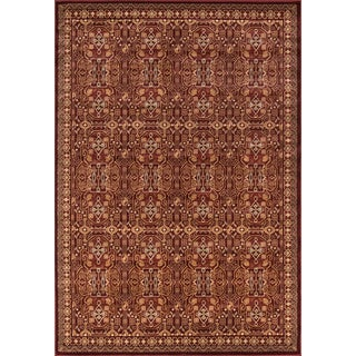 Preston Red Agra Rug (3'11 x 5'7)