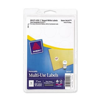 Avery Print or Write Removable Multi-use Labels
