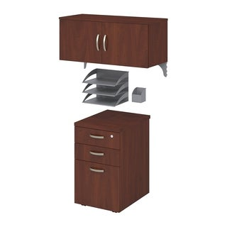 Office in an Hour Storage and Accessory Kit in Hansen Cherry