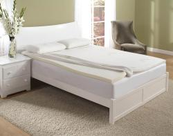 Home Fashions International 2-inch King-size Memory Foam Topper with Cover