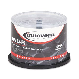 Innovera 4.7GB 16x Spindle DVD-R Discs