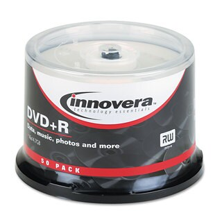 Innovera 50-pack 4.7GB 16x DVD+R Discs Spindle