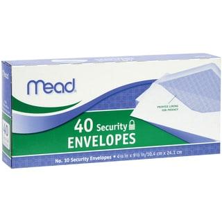 Mead Security Envelope 4 1/8 x 9 1/2