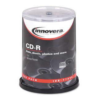 Innovera CD-R Discs 700MB/80min 52x 100-pack Spindle