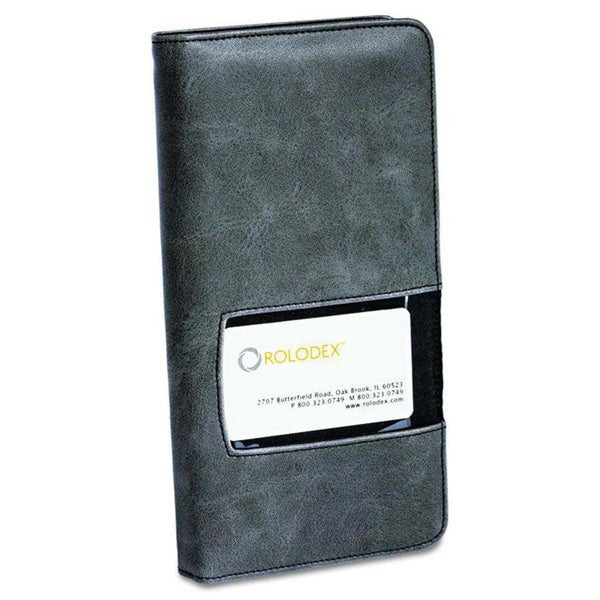Shop Rolodex Identity 96 Card Business Card Book Free Shipping On