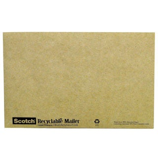Scotch Recyclable Padded Mailer #0
