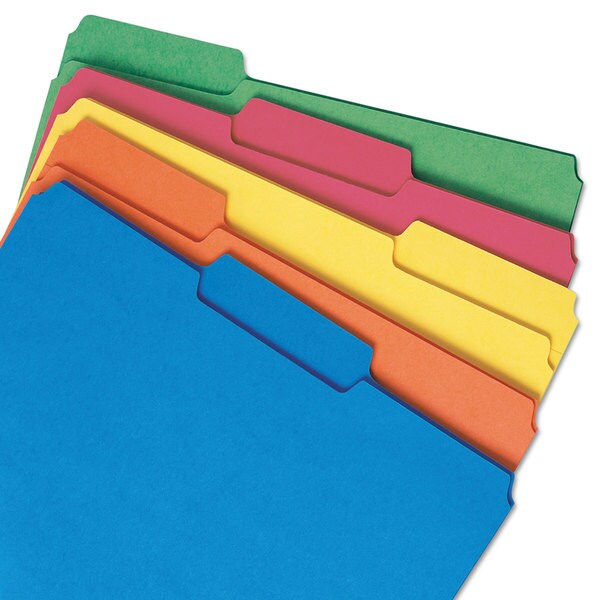 Smead Interior File Folders- 1/3 Cut- Top Tab-. Opens flyout.