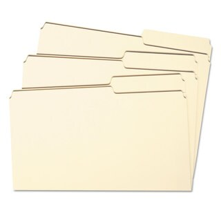 Smead Guide Height File Folders- 2/5 Cut Right