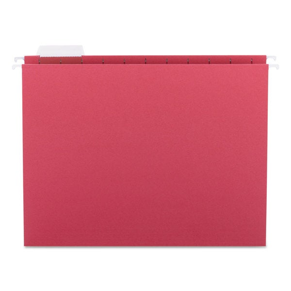Smead 1/5 Tab Red Hanging File Folders (Pack of 25). Opens flyout.