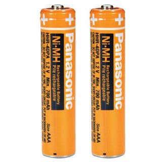 Cordless Phone Replacement Batteries - 2-Pack