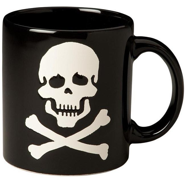 4d27a918ff Shop Waechtersbach Black Skull Mugs (Set of 4) - Free Shipping Today -  Overstock - 5911914
