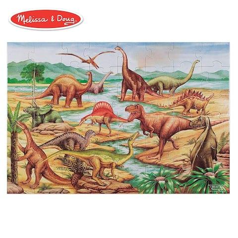Melissa & Doug Dinosaurs 48-piece Floor Puzzle