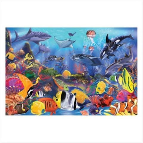 Melissa and Doug Underwater Floor Puzzle - 48 count