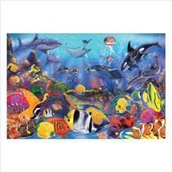 Melissa & Doug Underwater 48-peice Floor Puzzle