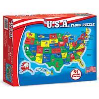 Melissa & Doug U.S.A. Map 51-piece Floor Puzzle (2' x 3')