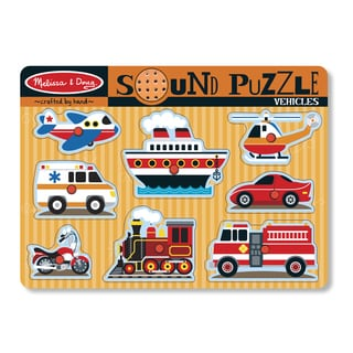 Mellisa n Doug Vehicles Sound Puzzle