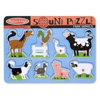 Melissa & Doug Farm Animals Sound Puzzle - 8' x 10'