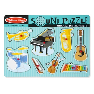 Mellisa n Doug Musical Instruments Sound Puzzle