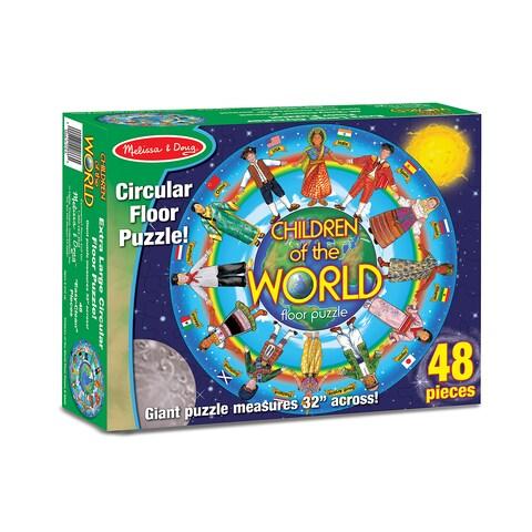 Melissa & Doug Children Around the World 48-piece Floor Puzzle