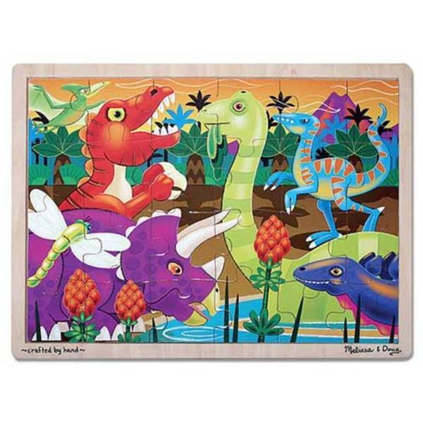 Melissa & Doug Prehistoric Sunset Dinosaurs Jigsaw Puzzle