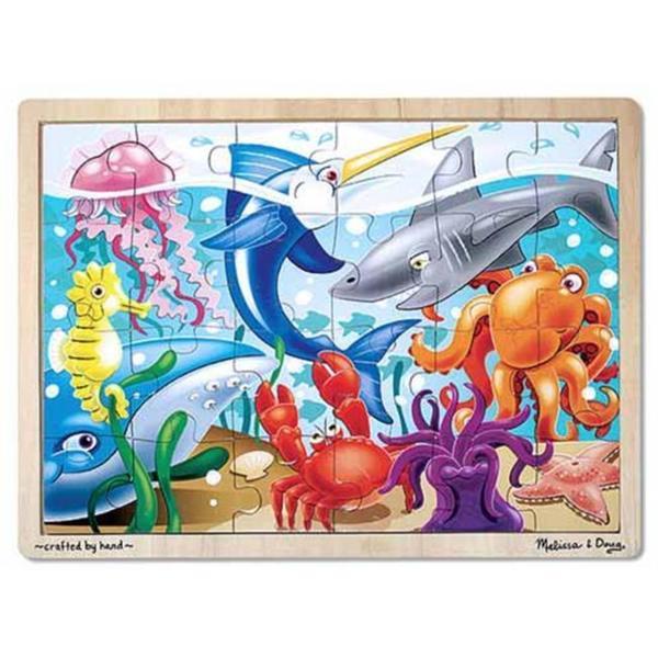 Melissa & Doug Under the Sea 24-piece Jigsaw Puzzle