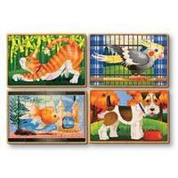 Melissa & Doug Pets Puzzles in a Box - multi