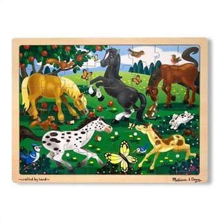 Melissa & Doug Frolicking Horses 48-piece Jigsaw Puzzle