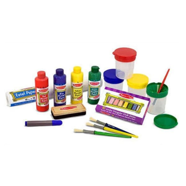 Shop Melissa And Doug Easel Accessory Set Free Shipping On Orders