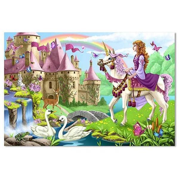 Melissa & Doug Fairy Tale Castle Floor Puzzle