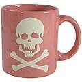 Waechtersbach Pink Skull Mugs (Set of 4)