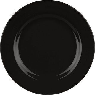 Waechtersbach Fun Factory Black Dinner Plates (Pack of 4)