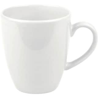 Waechtersbach Fun Factory White Jumbo Cafe Latte Cups (Set of 4)