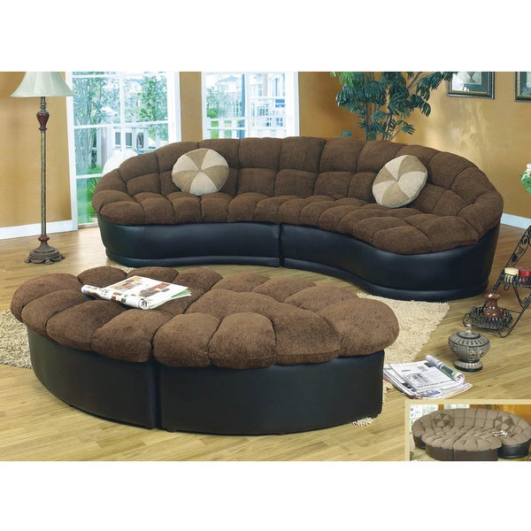 Exceptionnel Papasan Two Piece Sectional Sofa