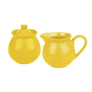 Waechtersbach Fun Factory Buttercup Creamer/ Sugar Set