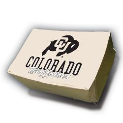 NCAA Colorado Buffalos Rectangle Patio Set Table Cover - Thumbnail 2